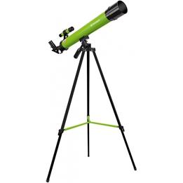 Bresser - Teleskop 45/600 Junior 56 Cm Aluminium Grön 10-Piece