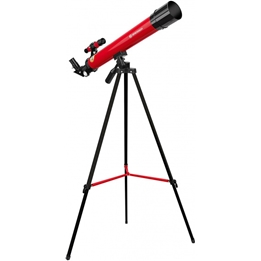 Bresser - Teleskop 45/600 Junior 56 Cm Aluminium Röd 10-Piece