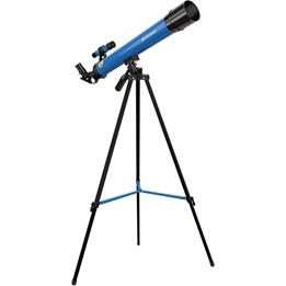 Bresser - Teleskop 45/600 Junior 56 Cm Aluminium Blå 10-Piece