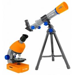 Bresser - Teleskop And Microscope Junior 35 Cm Orange