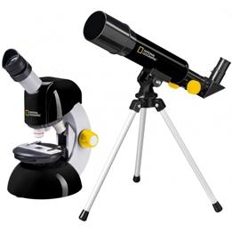 National Geographic - Teleskop Och Mikroskop Med Tillbehör
