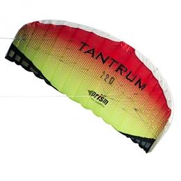 Prism - Two-Line Mattress Kite Tantrum 220 222 Cm Röd/Gul