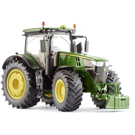Wiking - Miniature Tractor John Deere 7310Rdie-Cast Zinc 1:32 Grön