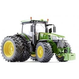 Wiking - Traktor John Deere 7310R Twin Tires 1:32 Grön