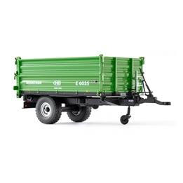 Wiking - Traktorsläp Brantner E 6035 Die-Cast 1:32 Grön