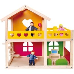 Tooky Toy - Dockskåp Med Tillbehör