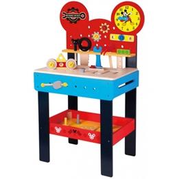 Disney - Workbench Mickey Mouse Junior 89 Cm Wood Blå/Röd