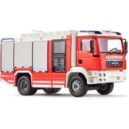 Wiking - Brandbil Rosenbauer Agvehicle 1:43 Röd