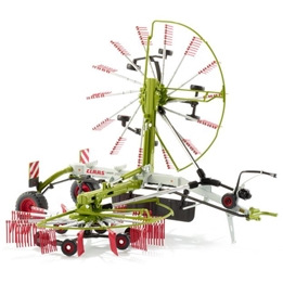 Wiking - Modell Rake Claas Liner 2600 Die-Cast 1:32 Grön