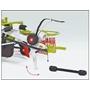 Wiking - Miniature Rake Claas Liner 2600Die-Cast Zinc 1:32 Grön