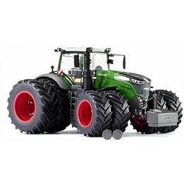 Wiking - Traktor Fendt 1050 Vario 2-Tyres Zinc 1:32 Grön