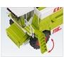 Wiking - Miniature Combine Harvester Claas Commandor 116Cs Zinc 1:32 Grön