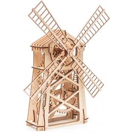 Wood Trick - Modelleksak Väderkvarn 80 Delar