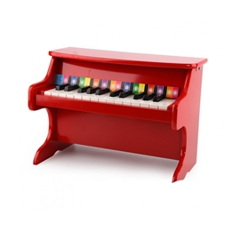 Tooky Toy - Mini Piano Röd