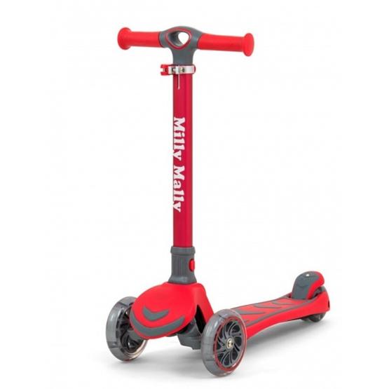 Milly Mally - Sparkcykel - Step Junior Röd