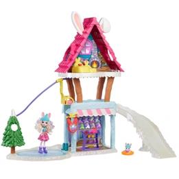 Mattel - Lekset SkidChalet 66 Cm