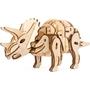 Robotime - 3D Model Construction Triceratops 39 Cm Wood Natural 94-Piece
