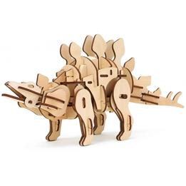 Robotime - Modelleksak / Pussel 3D Stegosaurus 88 Delar