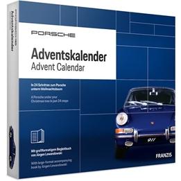 Franzis - Adventskalender Porsche 911 Blå 28-Part