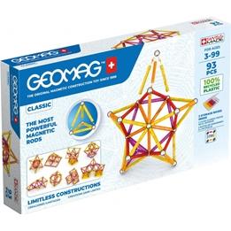 Geomag - Construction Set Classic Grön Line Junior 93-Piece