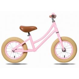 Rebel Kids - Balanscykel - Loopfiets Emma 12 Tum Rosa