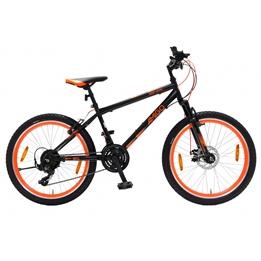 Amigo - Mountainbikes - Next Level 26 Tum 21 Växlar Svart