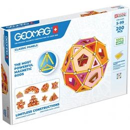 Geomag - Construction Set Classic Pannels Grön Line 200-Piece