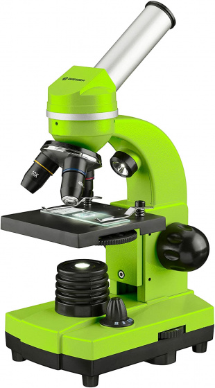 Bresser - Mikroskop Biolux Sel40-1600X 27 Cm Grön 17-Piece