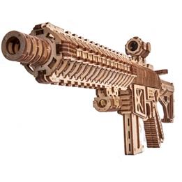 Wood Trick - Modelleksak 3D Assault RifleAr-T