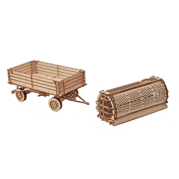 Wood Trick - Modelleksak 3D Vagn 153 Delar