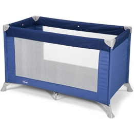 Chicco - Camping Bed Junior 122 X 63 X 76 Cm Polyester Blå