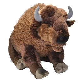 Wild Republic - Mjukisdjur Toy Bison Junior 76 Cm Plush Brun