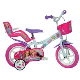 Dino - Barncykel - Barbie 12 Tum Vit