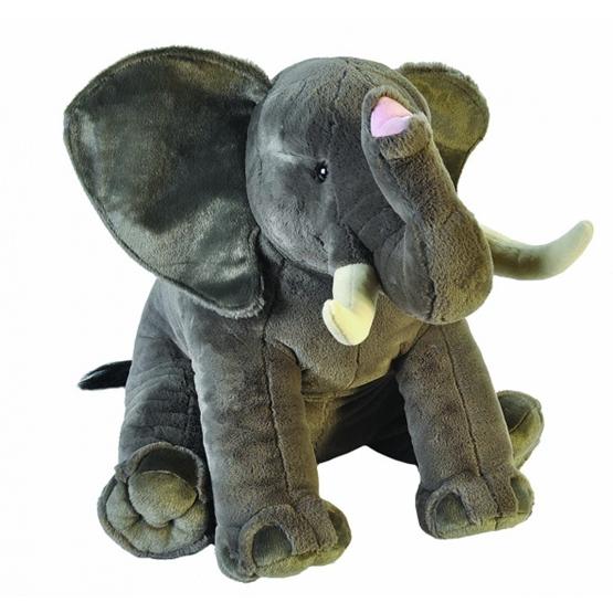 Wild Republic - Mjukisdjur Elefant 76 Cm Plush Grå