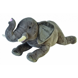 Wild Republic - Mjukisdjur Elefant 76 Cm Plush Grå/Vit