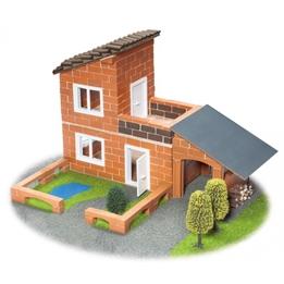 Teifoc - Modellsats Villa Med Garage 330 Delar