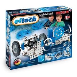 Eitech - Kit Gearwheel Steel Blå/Silver 250-Piece