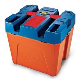 Hot Wheels - Runway Track Builder Box Blå/Orange