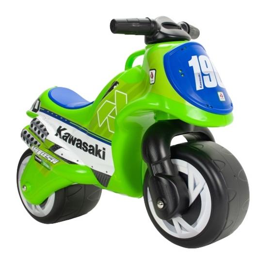 Injusa - Gåcykel - Walking Motor Neox Kawasaki Grön/Blå