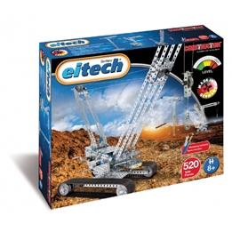 Eitech - Construction Set Crane Steel Silver 522-Piece