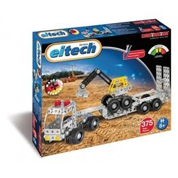 Eitech - Construction Set Steel Low Loader Truck 377-Piece