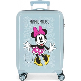 Disney - Resväska - Minnie Mouse Girls 33 Liter Abs Blå / Rosa