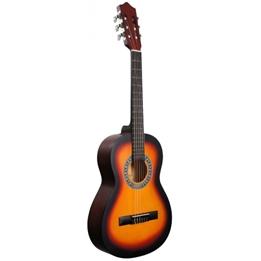 Gomez - Gitarr 036 3/4 Model Sunburst Wood Brun