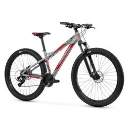 Lombardo - Mountainbikes - Mozia Disc 24 Tum Junior 21 Växlar Silver/Röd