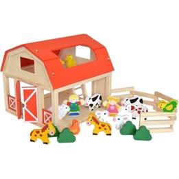 Tooky Toy - Farm Med Tillbehör