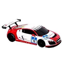 Rastar - Radiostyrd Bil Audi R8 Vit/Röd