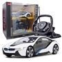 Rastar - Car Rc Bmw I8 Junior 30 Cm Vit/Svart 2-Part