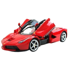 Rastar - Radiostyrd Bil Ferrari Junior 30 Cm Röd