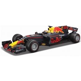 Bburago - Racerbil Max Verstappen 1:18 Blå/Röd/Gul