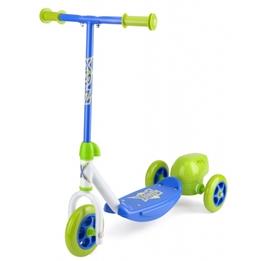 Xootz - Sparkcykel - 3-Wiel Bubble Scooter Fotbroms Grön/Blå